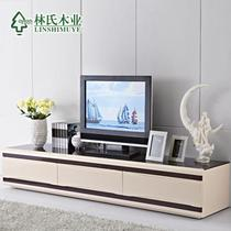 杏色人造板密度板/纤维板储藏成人简约现代 电视柜