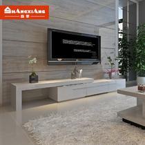 D06白色黑色D06人造板烤漆密度板/纤维板框架结构伸缩成人简约现代 电视柜