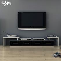 免漆刨花板/三聚氰胺板箱框结构拆装抽象图案成人简约现代 电视柜