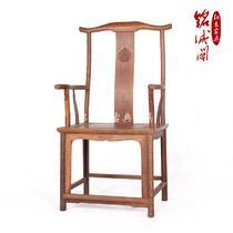 鸡翅木成人明清古典 靠背椅
