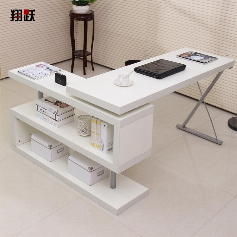 翔躍 人造板密度板/纖維板臺式電腦桌字母簡約現代 電腦桌