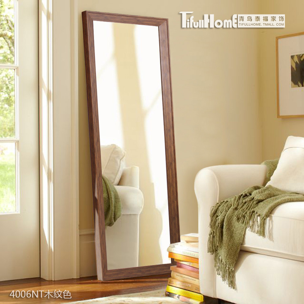 TifullHome 塑料置地方形新古典 4006NT衣/W50H28穿衣鏡