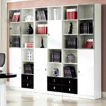 镜面密度板/纤维板框架结构拆装成人简约现代 书柜