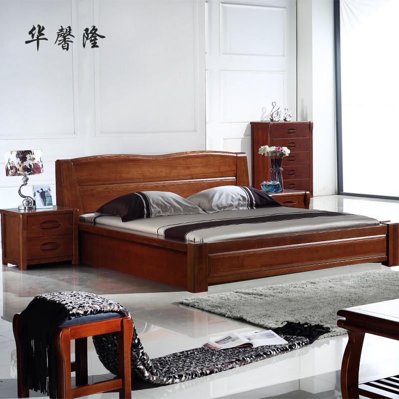 经典榆木款组装式架子床现代中式
