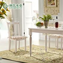 橡胶木成人韩式 餐椅