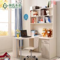 茉莉花白人造板刨花板/三聚氰胺板储藏儿童简约现代 书柜