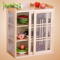 大号小号箱框结构泡桐木推拉艺术简约现代 餐边柜