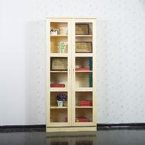 框架结构松木储藏成人田园 书柜