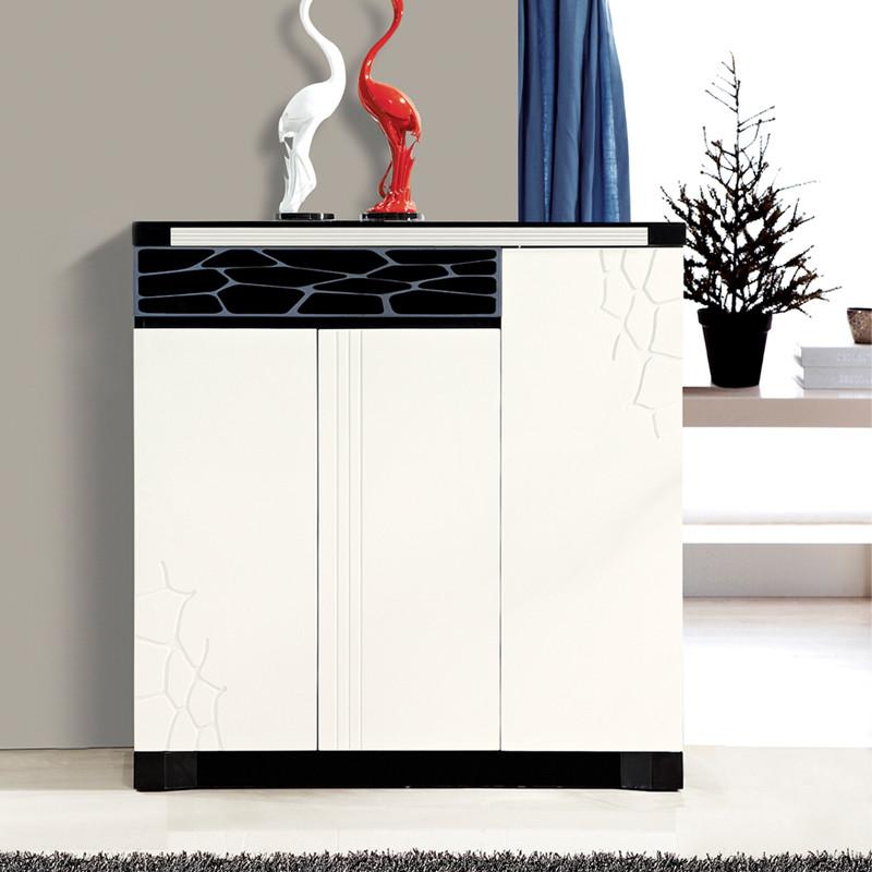 派林隆家私 密度板/纤维板储藏对开门单开门艺术简约现代 鞋柜