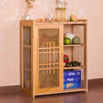 框架结构泡桐木储藏艺术简约现代 餐边柜