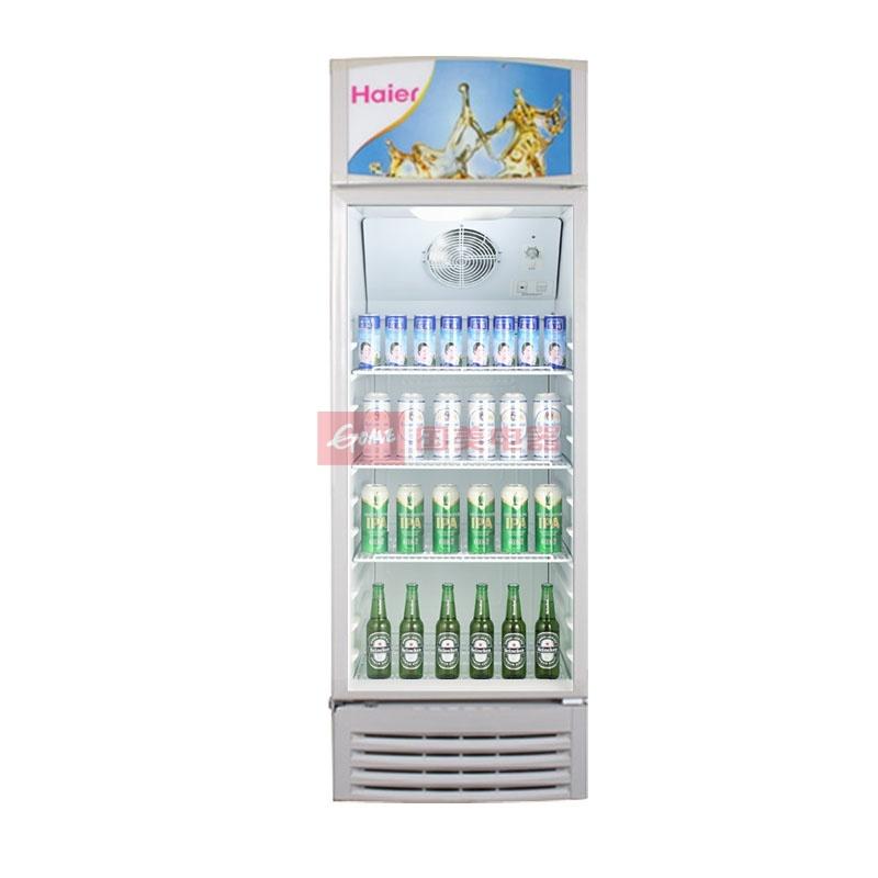 海尔 白色冷藏54db(A)ST单门R600a直冷左开式无立式展示柜机械控温 酒柜