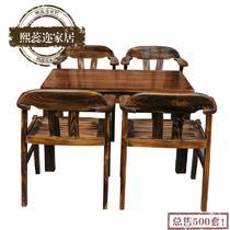 实木美式乡村 hw1咖啡桌