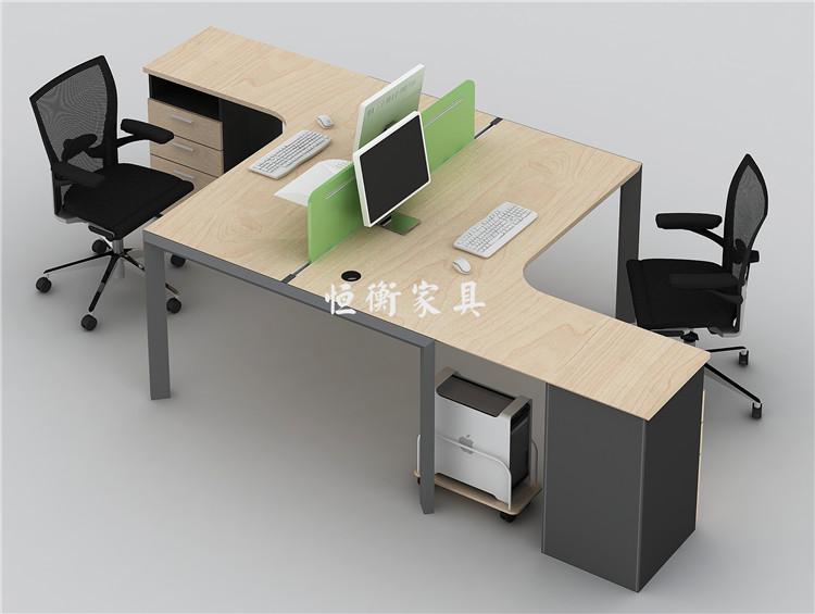 恒衡家具带抽屉自由组合简约现代电脑桌