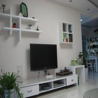 麦芽人造板特殊造型刨花板三聚氰胺板成人简约现代电视架