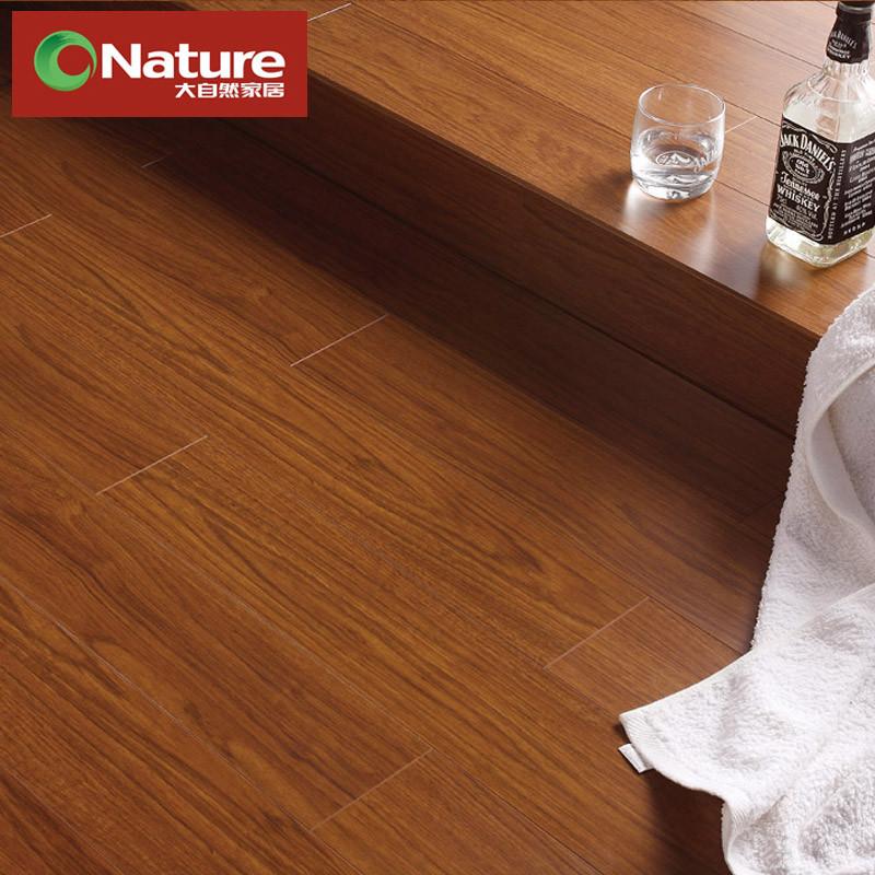 大自然 高密度纤维板单锁口 LC1202地板