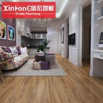 高密度纤维板R型槽 榆木仿古地板