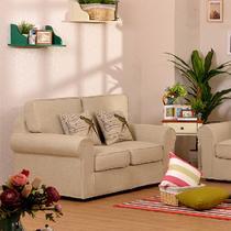 单人双人三人U形水洗木质工艺拼板移动复合面料海绵抽象图案欧式 沙发