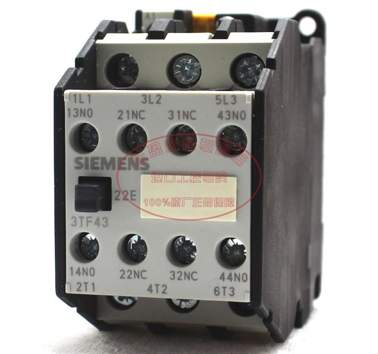 西門子 二開二閉 3TF43 22-0XQ0繼電器