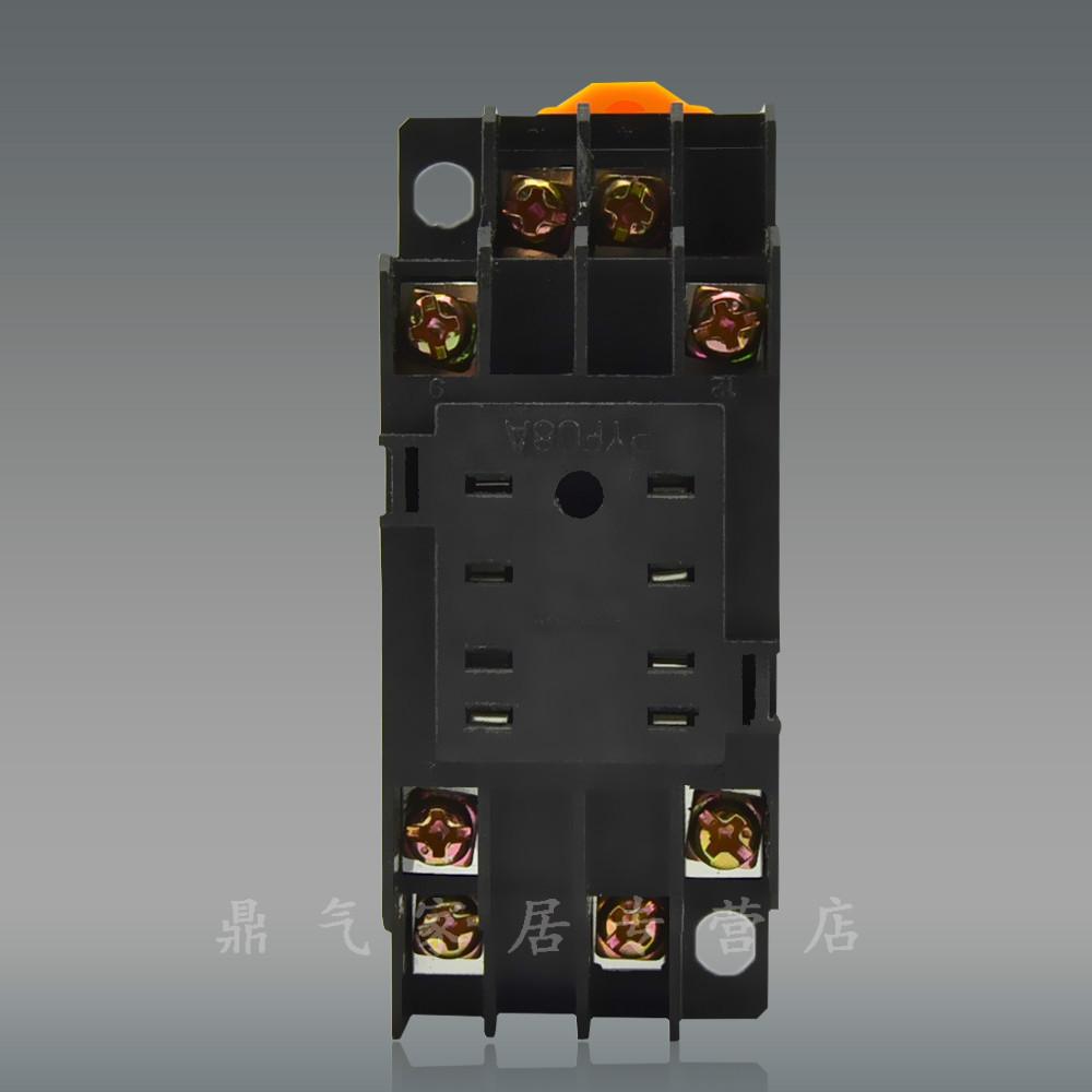 德力西電氣 二開二閉 HH52P繼電器