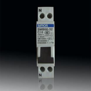 西蒙 1P16A壓縮空氣斷路器 斷路器空氣開關