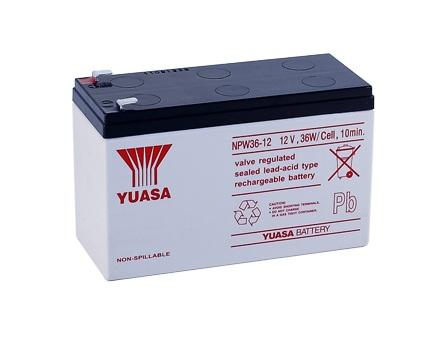 YUASA 計算機系統 NPW36-12蓄電池