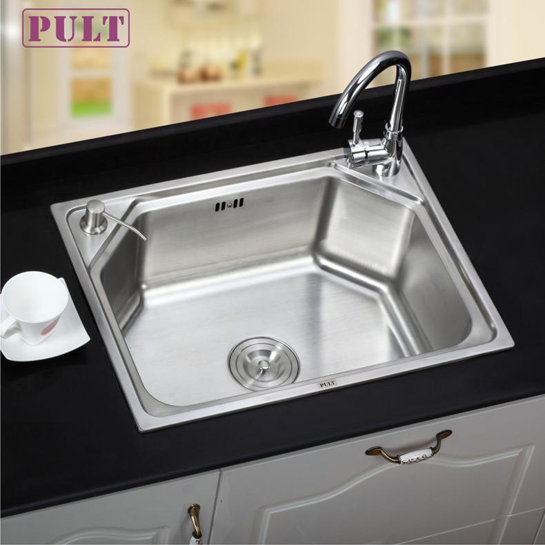 PULT 不锈钢 水槽单槽水槽