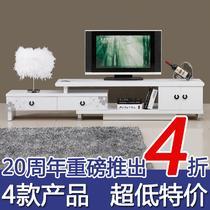 人造板烤漆密度板/纤维板框架结构伸缩成人简约现代 188-277电视柜