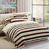 欧式斜纹植物花卉床单式欧美风 床品件套四件套