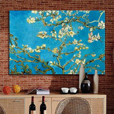 柠檬树平面无框独立喷绘装饰画