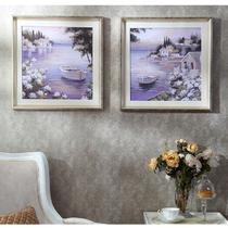 立体白色外框暖银色外框有框一幅价格植物花卉喷绘 装饰画