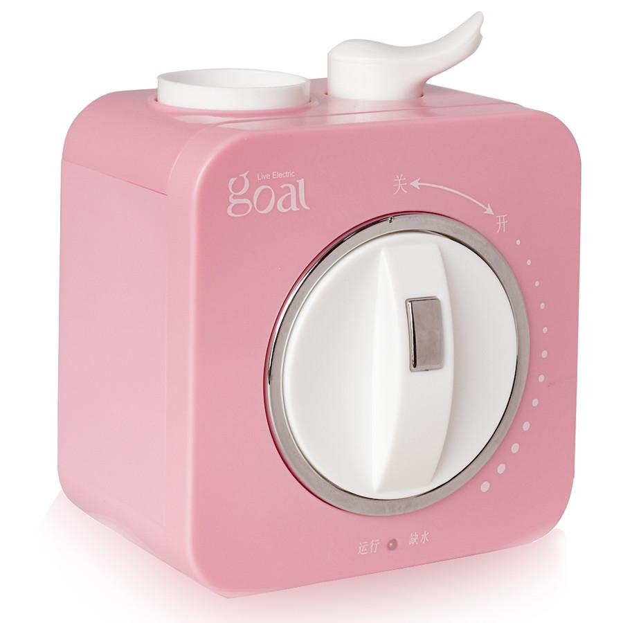 哥爾 綠色藍色粉紅色抽濕旋鈕式10㎡以下出霧交流電36dB以下純凈加濕家用商用方型 加濕器