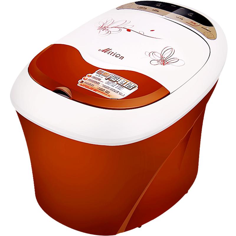 美承 咖啡色Mition/美承全國聯保下排式連體結構 MZY-25DAWB足浴盆