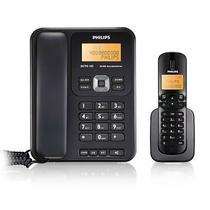 黑色白色数字无绳座式子母机全国联保 DCTG 182电话机