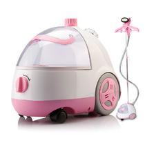 粉红色两档调温有全国联保 挂烫机