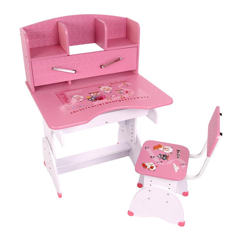 啟智星 人造板書架密度板/纖維板支架結構升降童趣/玩具兒童簡約現代 學習桌