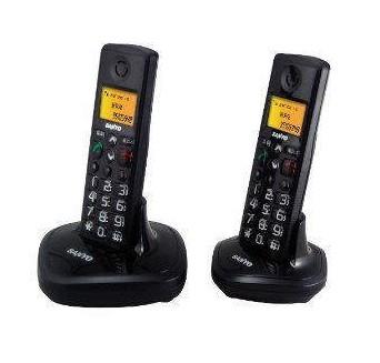 三洋黑色-电话机