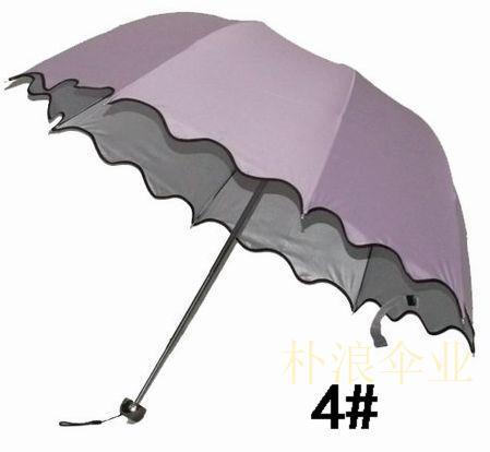 手动晴雨伞三折伞成人遮阳伞