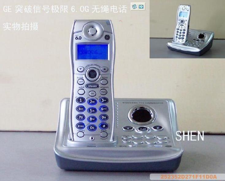 通用电气 通讯录模拟无绳 GE28112电话机