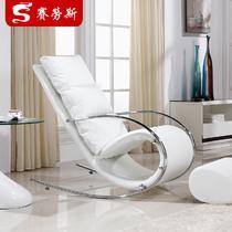 金属铁框架结构多功能艺术成人简约现代 摇椅