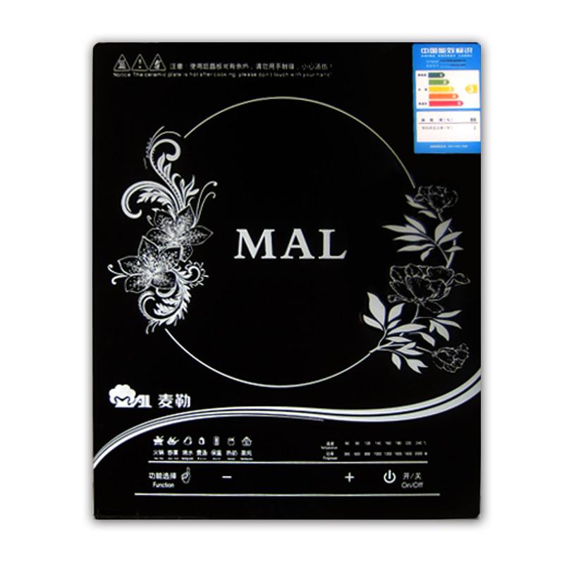 麥勒 黑晶面板麥勒(MAL)MAL20-B03電磁爐(觸摸智能面板)電磁爐 電磁爐