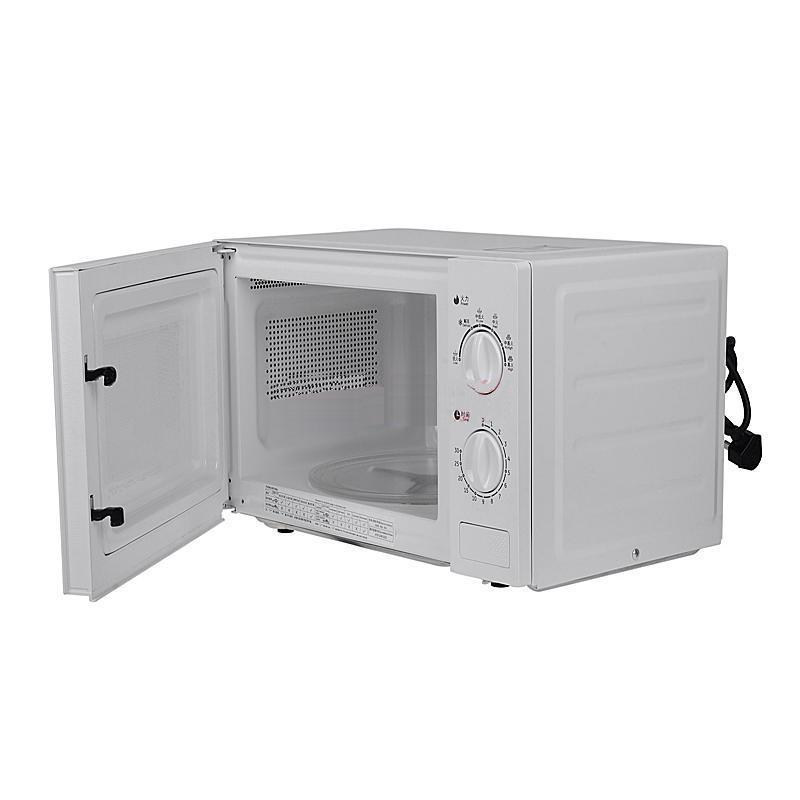 格蘭仕 白色微波爐手拉式透明轉盤式全國聯保機械式 微波爐