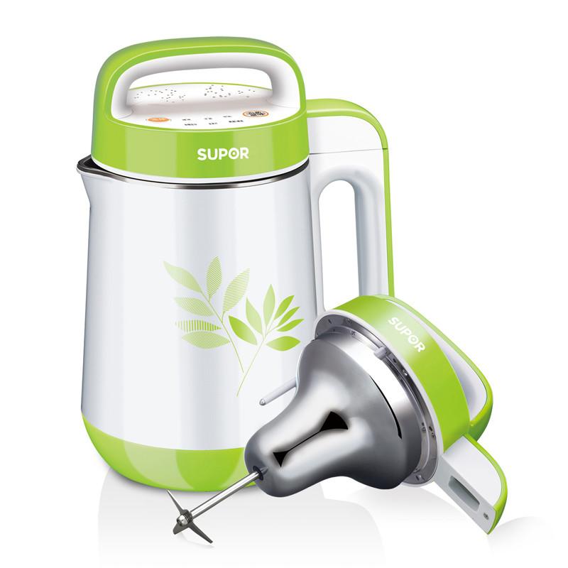 苏泊尔 绿色不锈钢立体环绕加热 豆浆机