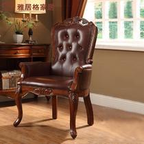 实木高弹泡沫海绵成人美式乡村 F964020沙发椅