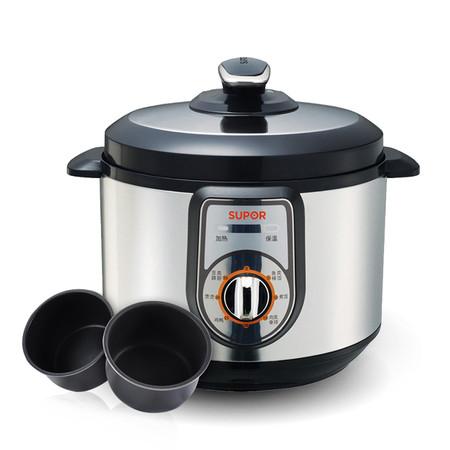 蘇泊爾 80kpa蒸、煮、煲、燉、燜微電腦式 CYYB40YA10-90電壓力鍋