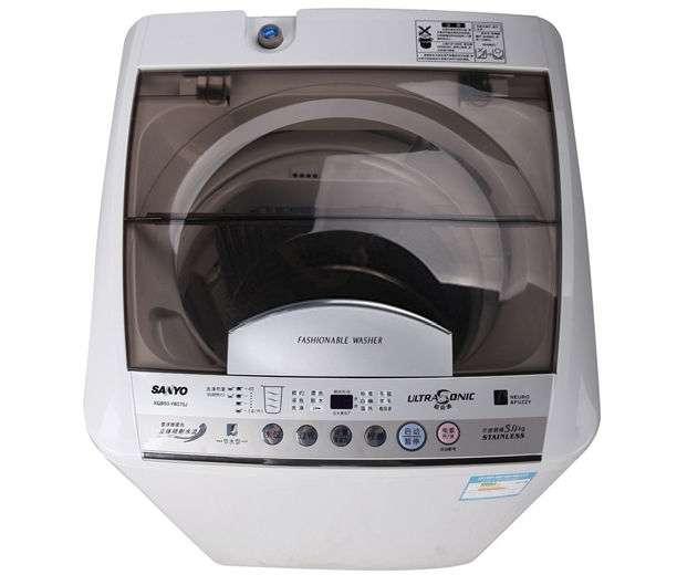 三洋 全自动波轮xqb60-m809洗衣机不锈钢内筒 洗衣机