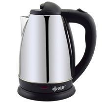 银色国产优质温控器不锈钢8分钟普通电热水壶1.8L底盘加热 电水壶