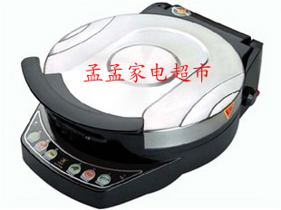利仁银色双面加热铸铝悬浮式电饼铛