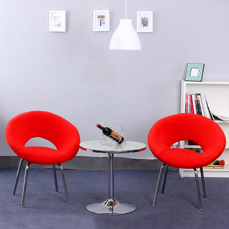 歐樂派 布高彈泡沫海綿植物花卉成人簡約現代 沙發椅