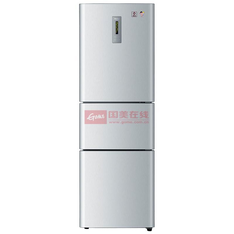 海爾 左開門三門定頻一級冷藏冷凍BCD-215SEBB冰箱 冰箱