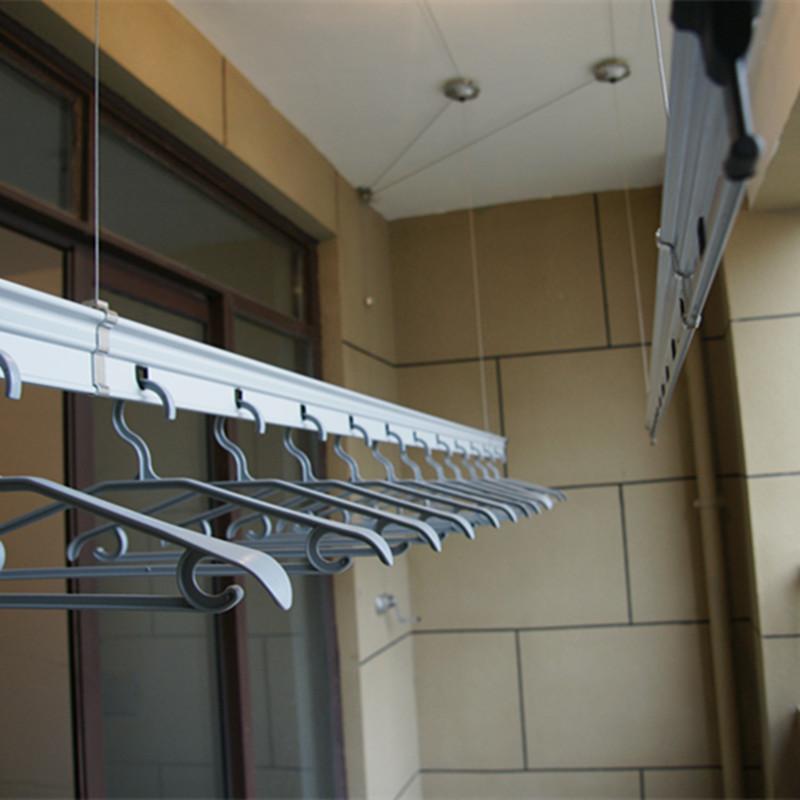 衣樂 陽臺升降式鋁雙桿式 7系提琴1705晾衣架